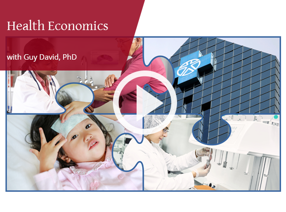 Video of a sample lecture from Health Economics